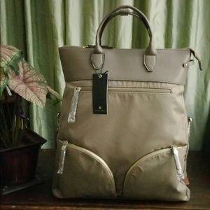 Travanti large taupe tote/travel bag